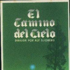 Cine: EL CAMINO DEL CIELO. Lote 192931466