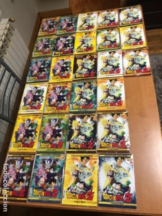 27 PELICULAS EN DVD DRAGON BALL Z EDICION RESTAURADA Y REMASTERIZADA (Cine - Folletos de Mano - Infantil)