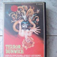 Cine: TERROR EN DUNWICH VHS. Lote 193422281