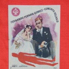 Cine: CRIMEN PARA RECIEN CASADOS, SENCILLO EXCTE. ESTADO, F. FERNAN GOMEZ, C/PUBLI AVENIDA 1961. Lote 193427773