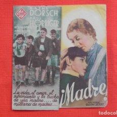 Cine: MADRE, DOBLE, KATHE DORSCH, SIN PUBLICIDAD. Lote 193431391