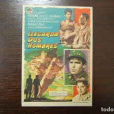 Cine: LLEGARON DOS HOMBRES. Lote 193637087