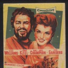 Cine: P-6761- LA AMADA DE JUPITER (JUPITER'S DARLING) (SOLIGÓ) (CINE CARDENIO) ESTHER WILLIAMS. Lote 193851061