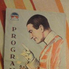 Cine: ANTIGUO PROGRAMA.EL DESFILE DEL AMOR.MAURICE CHEVALIER.JEANETTE MAC DONALD.COLISEUM 1930. Lote 193864506