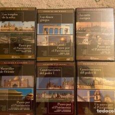Cine: COLECCION PASEO POR EL PATRIMONIO. 12 DVDS EDITORIAL PLANETA. Lote 193953137