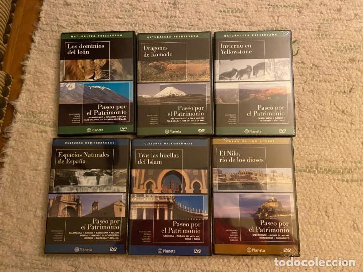 Cine: COLECCION PASEO POR EL PATRIMONIO. 12 DVDs EDITORIAL PLANETA - Foto 2 - 193953137
