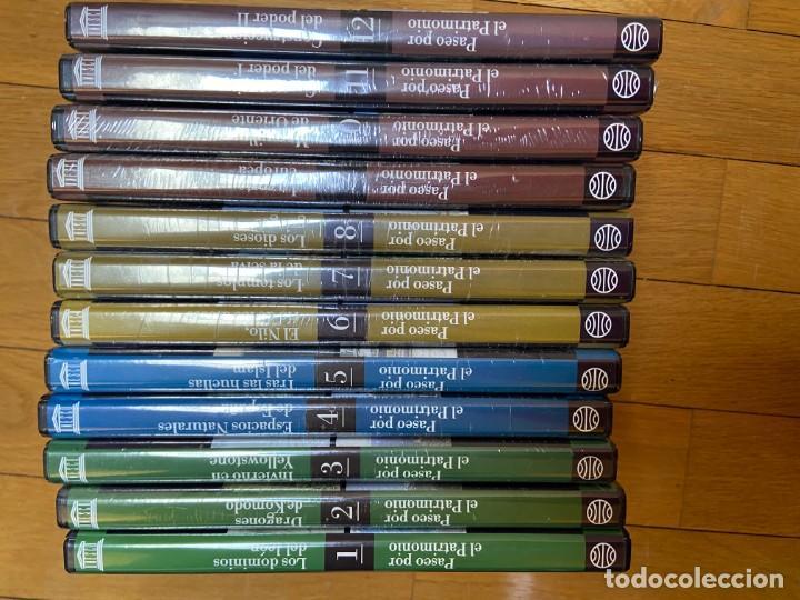 Cine: COLECCION PASEO POR EL PATRIMONIO. 12 DVDs EDITORIAL PLANETA - Foto 4 - 193953137