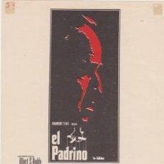 Cine: EL PADRINO. Lote 193969291