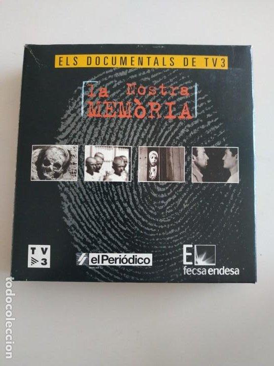 LA NOSTRA MEMÒRIA 10 DVDS ELS DOCUMENTALS DE TV3 (NOUS) (Cine - Folletos de Mano - Documentales)