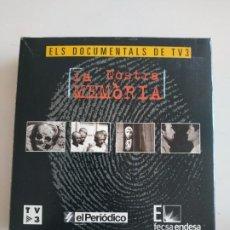 Flyers Publicitaires de films Anciens: LA NOSTRA MEMÒRIA 10 DVDS ELS DOCUMENTALS DE TV3 (NOUS). Lote 193996995