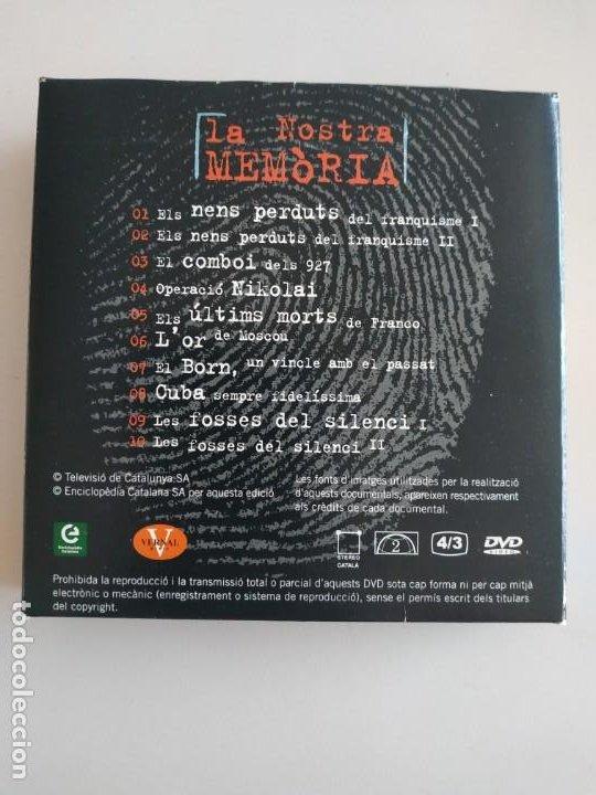 Cine: La nostra memòria 10 DVDS Els documentals de TV3 (NOUS) - Foto 2 - 193996995