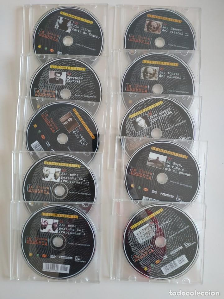 Cine: La nostra memòria 10 DVDS Els documentals de TV3 (NOUS) - Foto 3 - 193996995