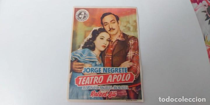 TEATRO APOLO (Cine - Folletos de Mano - Musicales)
