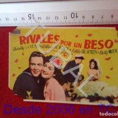 Cine: TUBAL RIVALES POR UN BESO CINE GONGORA 1950 SEVILLA PROGRAMA DE MANO 100% ORIGINAL B46. Lote 194148717