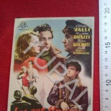 Cine: TUBAL LOS QUE VIVIMOS CINE RIALTO SEVILLA PROGRAMA DE MANO 100% ORIGINAL B46. Lote 194148861