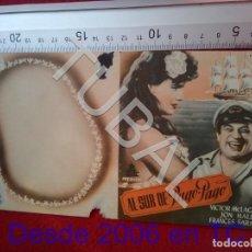 Cine: TUBAL AL SUR DE PAGO PAGO PROGRAMA DE MANO 100% ORIGINAL B46. Lote 194148962