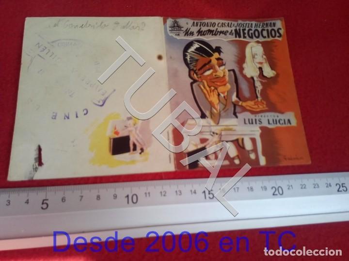 TUBAL UN HOMBRE DE NEGOCIOS PROGRAMA DE MANO 100% ORIGINAL B46 (Cine - Folletos de Mano - Comedia)
