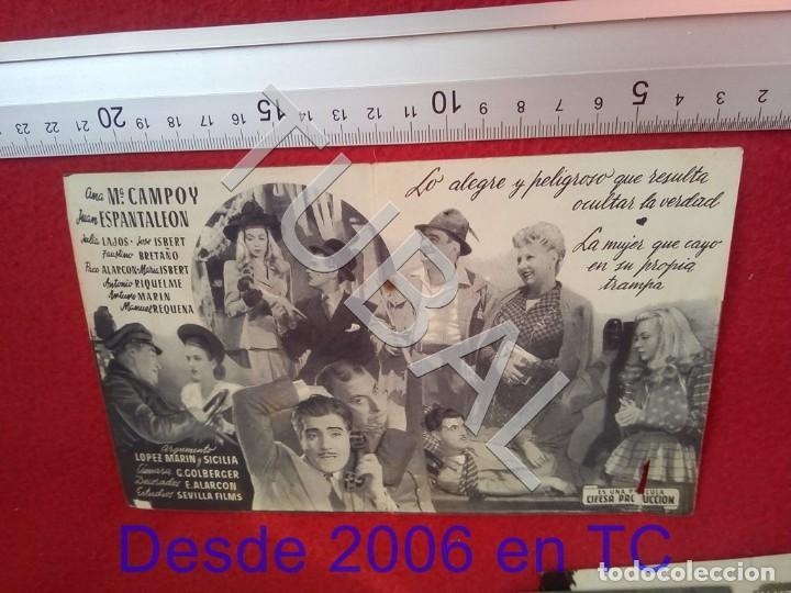 Cine: TUBAL UN HOMBRE DE NEGOCIOS PROGRAMA DE MANO 100% ORIGINAL B46 - Foto 2 - 194149176