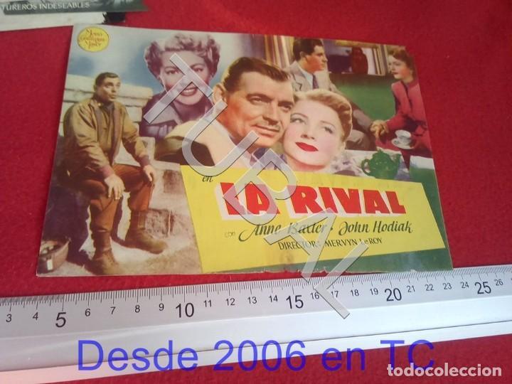 TUBAL LA RIVAL PROGRAMA DE MANO CINE ROCÍO TRIANA 100% ORIGINAL B46 (Cine - Folletos de Mano - Comedia)