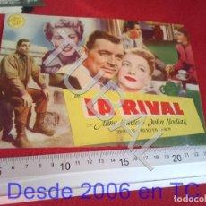 Cine: TUBAL LA RIVAL PROGRAMA DE MANO CINE ROCÍO TRIANA 100% ORIGINAL B46. Lote 194149297