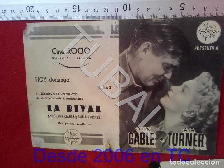 Cine: TUBAL LA RIVAL PROGRAMA DE MANO CINE ROCÍO TRIANA 100% ORIGINAL B46 - Foto 2 - 194149297