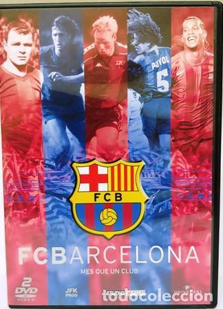 2 DVD FUTBOL CLUB BARCELONA (Cine - Folletos de Mano - Deportes)