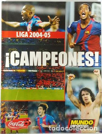 DVD Y LIBRO CAMPEONES LIGA 2004-05 (Cine - Folletos de Mano - Deportes)