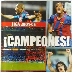 Cine: DVD Y LIBRO CAMPEONES LIGA 2004-05. Lote 194152918