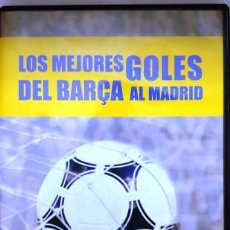 Cine: DVD LOS MEJORES GOLES DEL BARÇA AL MADRID. Lote 194153095