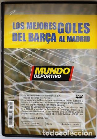 Cine: DVD LOS MEJORES GOLES DEL BARÇA AL MADRID - Foto 3 - 194153095