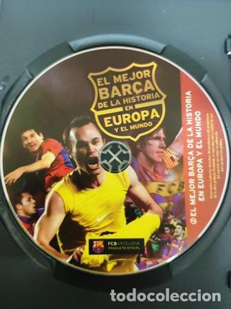 Cine: DVD EL MEJOR BARÇA DE LA HISTORIA EN EUROPA Y EL MUNDO - Foto 2 - 194153800