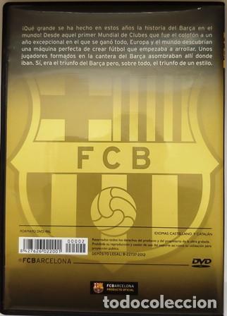 Cine: DVD EL MEJOR BARÇA DE LA HISTORIA EN EUROPA Y EL MUNDO - Foto 3 - 194153800
