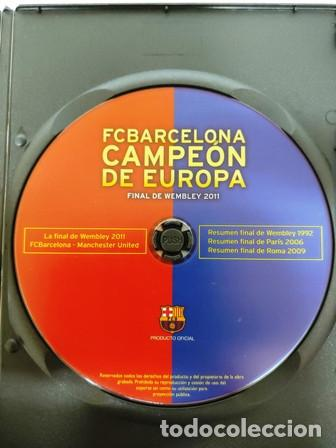 Cine: DVD F. C. BARCELONA CAMPEÓN DE EUROPA FINAL DE WEMBLEY 2011 - Foto 2 - 194153997