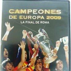 Cine: DVD F. C. BARCELONA CAMPEÓNES DE EUROPA 2009 LA FINAL DE ROMA. Lote 194154181