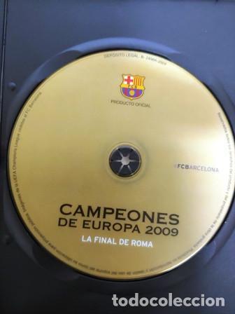 Cine: DVD F. C. BARCELONA CAMPEÓNES DE EUROPA 2009 LA FINAL DE ROMA - Foto 2 - 194154181