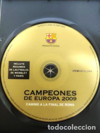 Cine: DVD F. C. BARCELONA CAMPEÓNES DE EUROPA 2009 CAMINO A LA FINAL DE ROMA - Foto 2 - 194154302