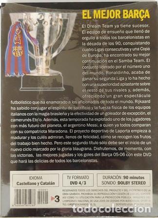 Cine: DVD F. C. BARCELONA ASI GANAMOS LA LIGA TODOS LOS GOLES DEL CAMPEÓN 2005 - 2006 - Foto 2 - 194154447
