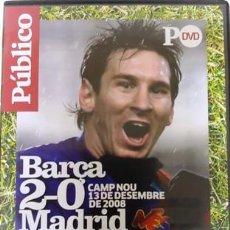 Cine: DVD BARÇA - MADRID 2 -0 CAMP NOU 13 DICIEMBRE 2008. Lote 194154698