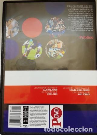 Cine: DVD REAL MADRID - F.C. BARCELONA 2 - 6 - Foto 3 - 194154850