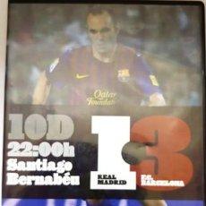 Cine: DVD REAL MADRID - F.C. BARCELONA 1 - 3 SANTIAGO BERNABEU. Lote 194154996