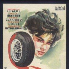 Cine: P-0820- DELITO DE FUGA (DÉLIT DE FUITE) ANTONELLA LUALDI - FÉLIX MARTEN - AIMÉ CLARIOND. Lote 194185452