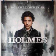 Cine: ORIGINALES DE CINE: SHERLOCK HOLMES - ROBERT DOWNEY JR. - 70X100 CMS. EN ROLLO.. Lote 194192845