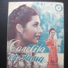 Cine: CANELITA EN RAMA, JUANITA REINA. Lote 194214102