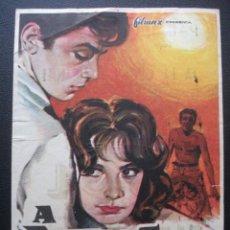 Cine: A PLENO SOL, ALAIN DELON, PALACIO ERISANA DE LUCENA. Lote 194214383