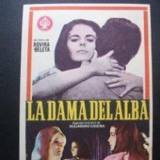 Cine: LA DAMA DEL ALBA, DOLORES DEL RIO. Lote 194215052