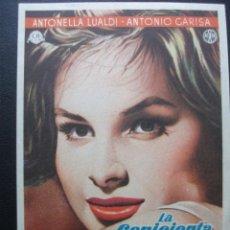 Cine: LA CENICIENTA Y ERNESTO, ANTONELLA LUALDI. Lote 194215262
