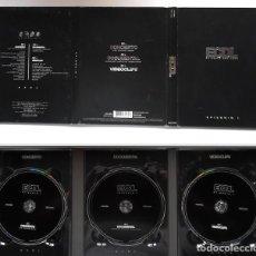 Cine: DANI MARTIN EL CANTO DEL LOCO. EPISODIO I 3 DVD: LAS VENTAS 2006, DOCUMENTAL 2000-06 Y 10 VIDEOCLIPS. Lote 194227333