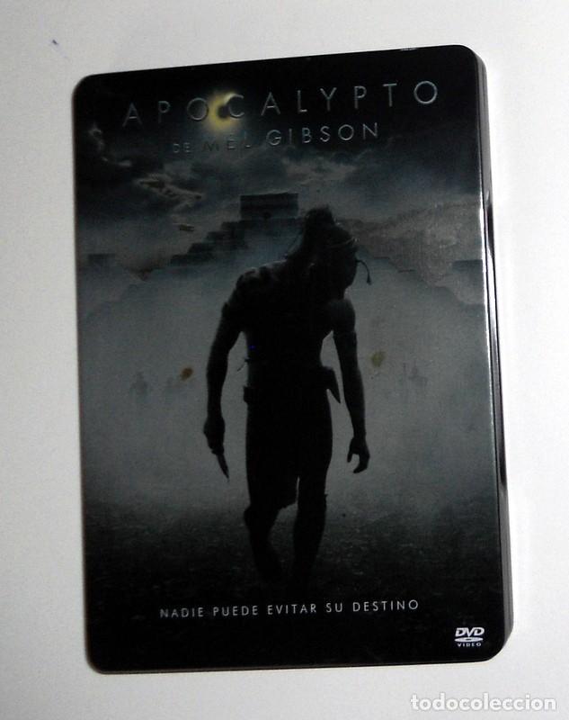 PELÍCULA DVD EDICIÓN ESPECIAL CAJA METÁLICA - APOCALYPTO - MEL GIBSON - EXTRAS (Cine - Folletos de Mano - Acción)