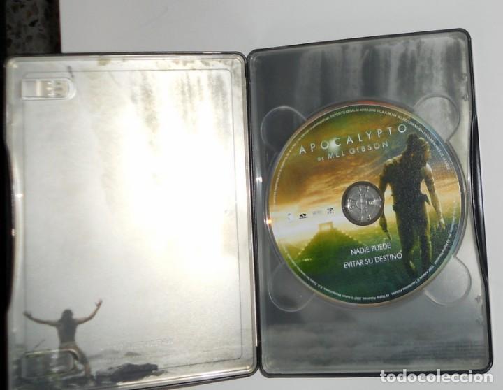 Cine: PELÍCULA DVD EDICIÓN ESPECIAL CAJA METÁLICA - APOCALYPTO - MEL GIBSON - EXTRAS - Foto 3 - 194298267