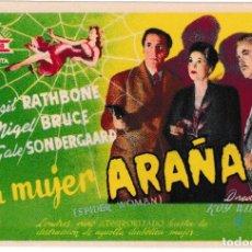 Cine: LA MUJER ARAÑA - BASIL RATHBONE - CIFESA. Lote 194308745